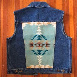 Pendleton Jean Vest